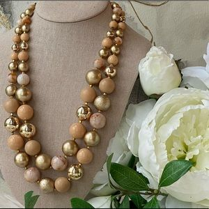 Vintage 1950s (Japan) Beaded Necklace